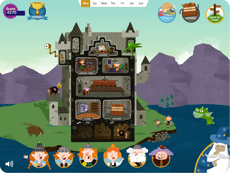 Cookin Castle Screenshot